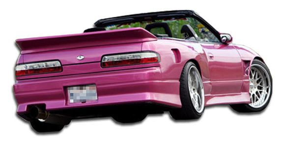 1989-1994 Nissan 240SX S13 2DR Duraflex V-Speed Rear Bumper Cover - 1 Piece