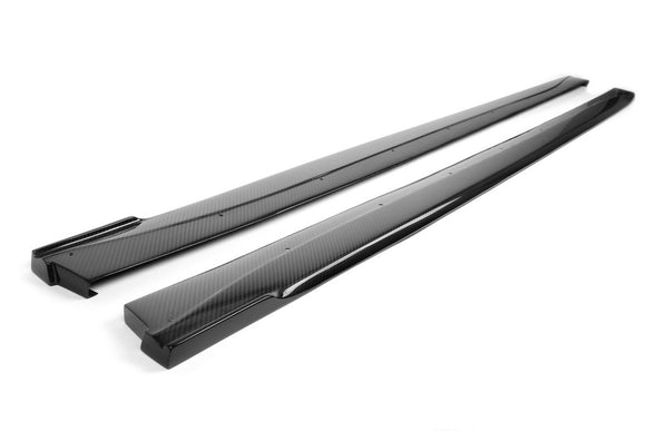 Carbon Fiber Side Rocker Extensions BMW F82 M4, 2014-up BMW  F82 M4