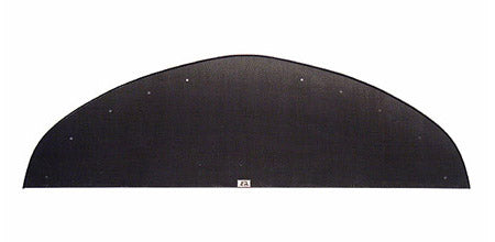Carbon Fiber Wind Splitter With Rods, 2006-2007 Mitsubishi EVO 9