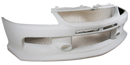 Fiber Glass EVO 9 Front Bumper w. APR Lip Incorporated, 2006-2007 Mitsubishi EVO 9