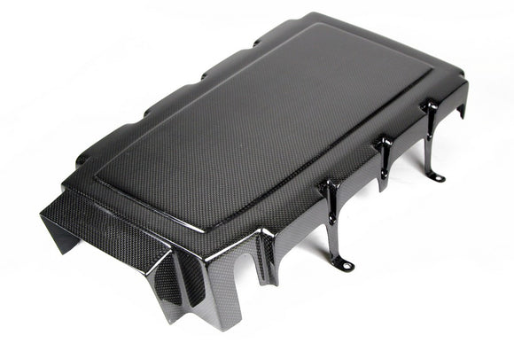 Carbon Fiber Engine Plenum Cover, 2005-2010 Ford Mustang