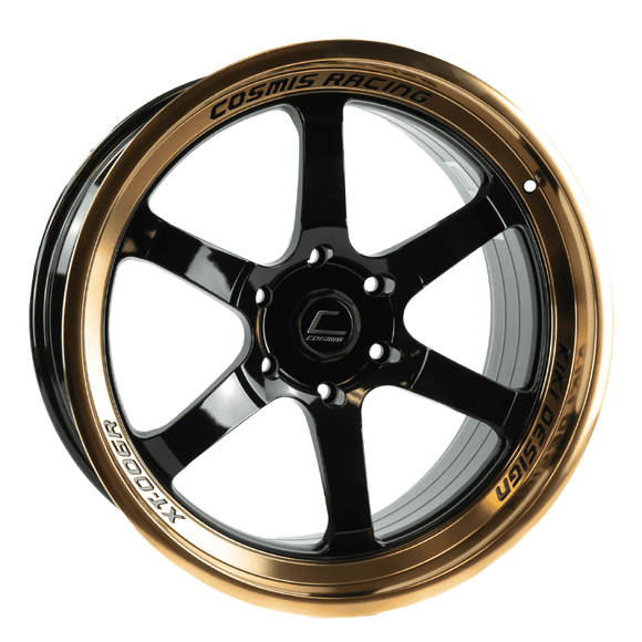 XT-006R Black with Bronze Machined lip 20x9.5 +10mm 6x135