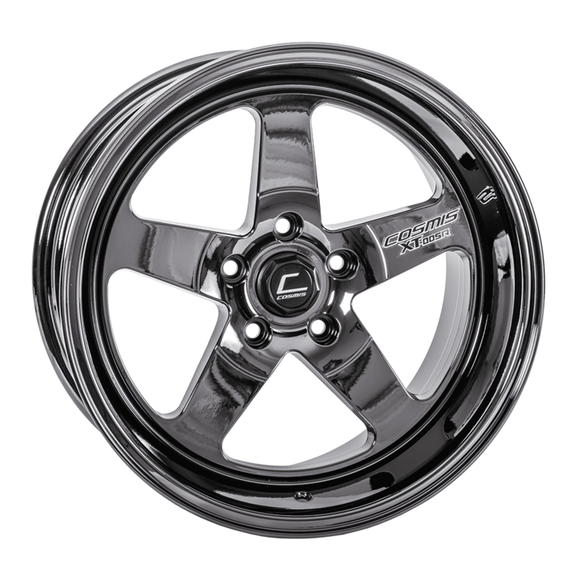 XT-005R Black Chrome Wheel 18x9 +25mm 5x114.3