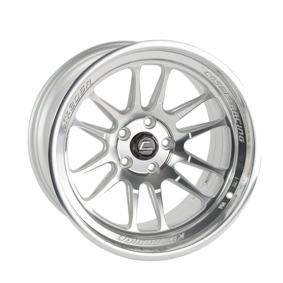Cosmis Racing XT-206R Silver w/ Machined Face Wheel 20x10.5 +45mm 5x114.3 - Universal