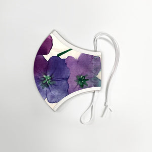 Botanical Patterns - Adult Size - Reusable Washable Face Masks