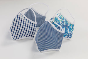 Contemporary Patterns - Adult Size - Reusable Washable Face Masks