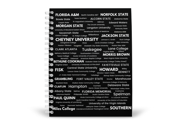 Custom HBCU College Ruled Notebook