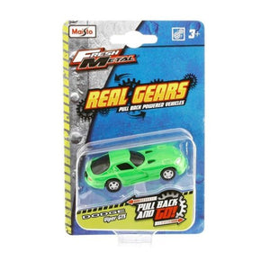 Maisto Fresh Metal Real Gears Vehicles Pull Back – Color and Style May Vary (1 Piece) - One Shop Online Toys in Pakistan