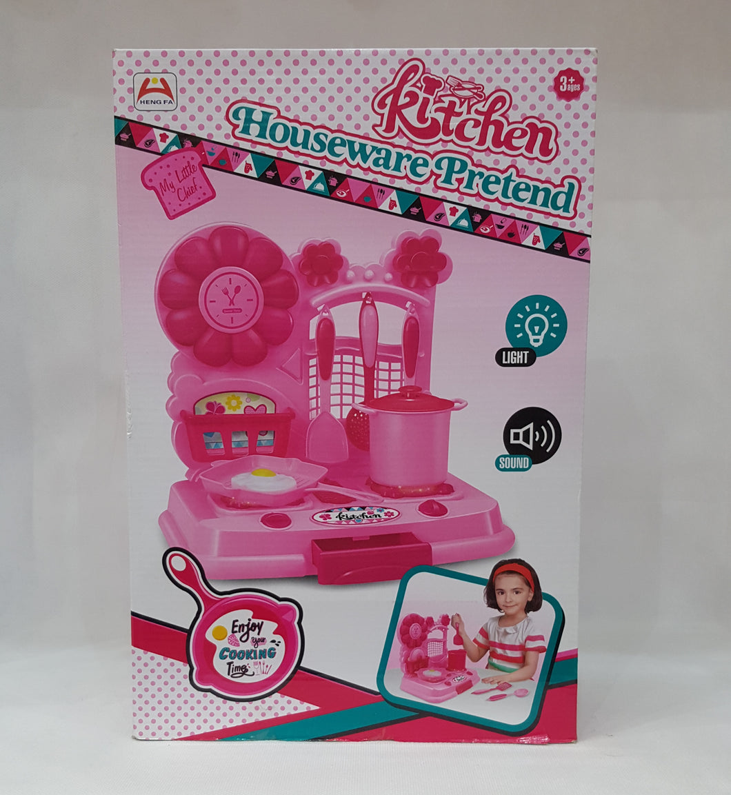 Kitchen set with lights and sound Houseware Pretend