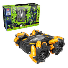 Load image into Gallery viewer, 2.4G Sidewalk Dump Truck Double-sided Flip Drift Remote Control Car