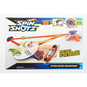 Hot Wheels Spin Shotz, Y0097, Super Competition Arena with 1 Disc - One Shop The Toy Store