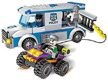Load image into Gallery viewer, COGO CITY Police Chase Getaway Blocks Van Set of 261 pieces small blocks for kids