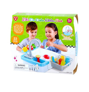 Playgo Toys Sink set 22 pieces - One Shop Online Toys in Pakistan