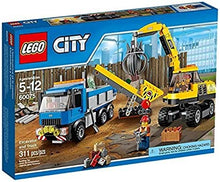 Load image into Gallery viewer, LEGO City Demolition Excavator and Truck