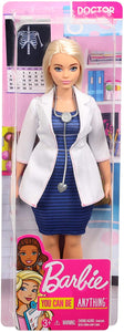 Barbie Doctor Doll with Stethoscope - One Shop The Toy Store