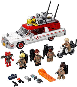 LEGO Ghostbusters Ecto-1 & 2 Building Kit (556 Piece)