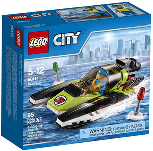 LEGO City Great Vehicles Race Boat (95 Piece)