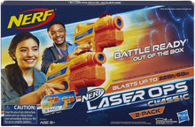 Load image into Gallery viewer, NERF Laser Ops Classic Ion Blaster 2 Pack