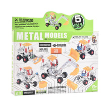 Load image into Gallery viewer, Metal Model Mechanic  Set 5in1 (139) pcs