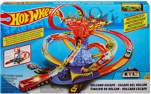 Hot Wheels City Volcano Escape Connectable Play Set with Diecast and Mini Toy Car (1 piece) - One Shop Online Toys in Pakistan