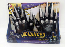 Load image into Gallery viewer, Black Panther Child Gloves-B0445