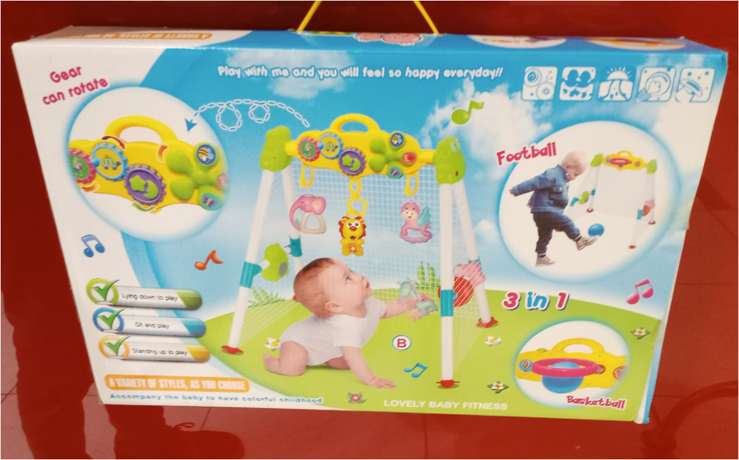 3 IN 1 BABY FITNESS BRACKET GYM-7717
