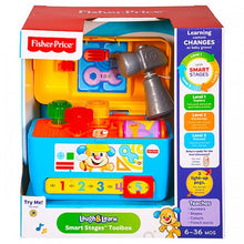 Load image into Gallery viewer, Fisher-Price Laugh and Learn Smart Stages Toolbox