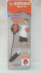 Boxing Sports Set height Adjustable - One Shop Online Toys in Pakistan