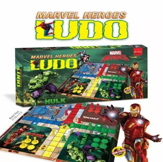 Marvel Heroes Ludo Game - One Shop Online Toys in Pakistan