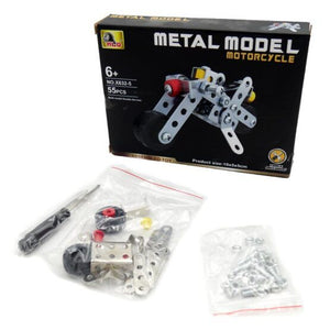 Metal Motorcycle Assembling Toy - One Shop Online Toys in Pakistan