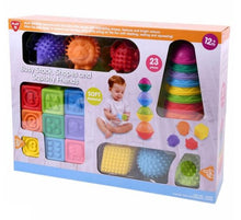 Load image into Gallery viewer, Playgo Busy Stack Shapes and Squishy Friends - One Shop Online Toys in Pakistan