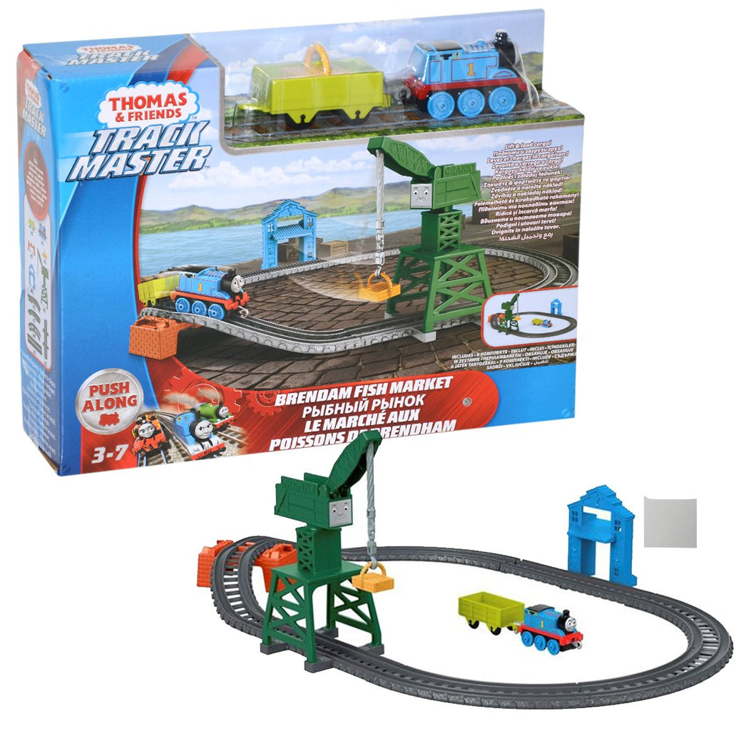 Fisher Price Thomas & Friends Trackmaster Brendam Fish Market Playset