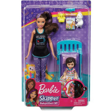 Load image into Gallery viewer, Barbie Skipper Babysitters Bedtime Playset