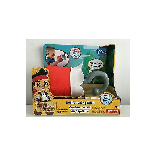 Fisher-Price Jake and The Never Land Pirates - Talking Hook