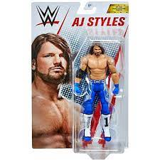 WWE AJ Styles Top Picks Action Figure