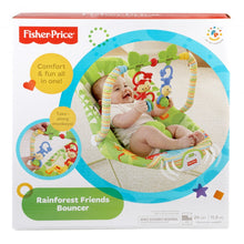 Load image into Gallery viewer, Fisher Price Rainforest Friends Bouncer