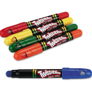 Crayola Twistables Slick Stix (5pcs)