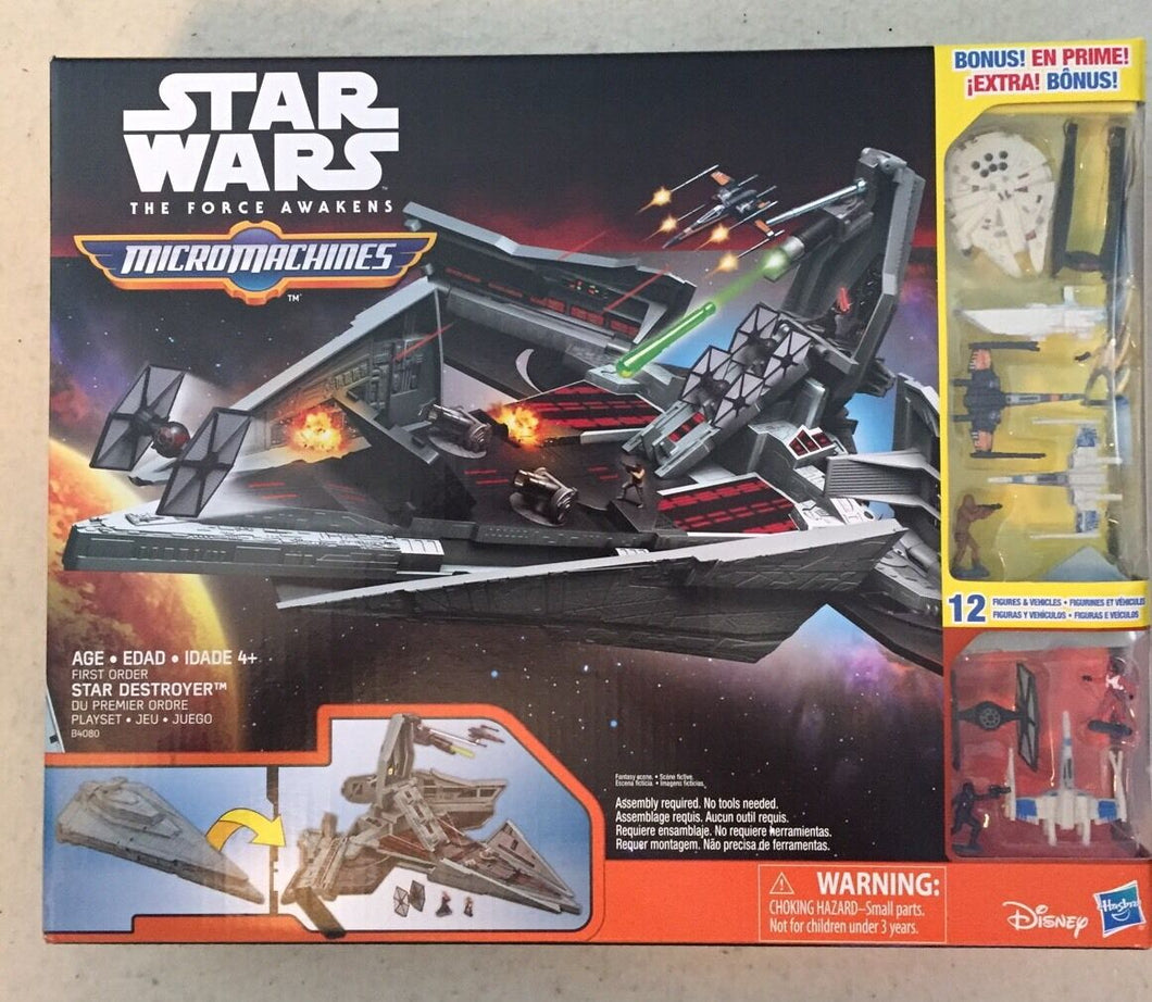 Star Wars Force Awakens Micro Machines