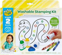Load image into Gallery viewer, Crayola My First Funny Face Stamping Kit