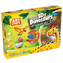 Load image into Gallery viewer, Art Craft 3D Dinasours Dough Set 03361