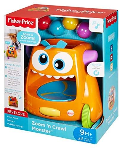 Fisher Price Zoom and crawl Monster