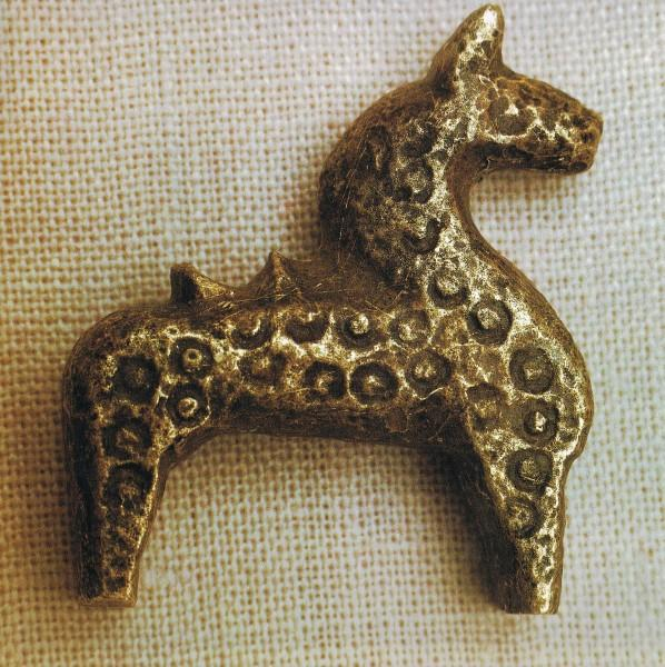 Volin Carved Horse