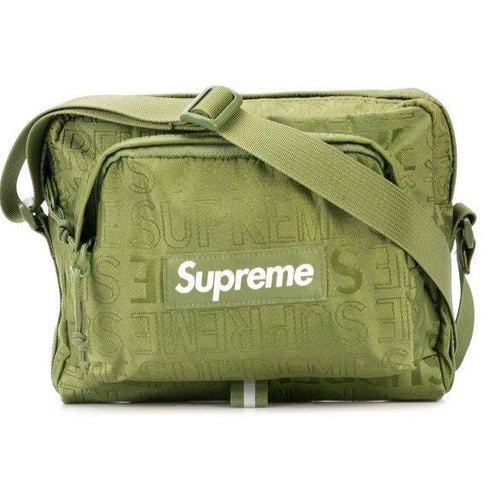 Supreme Green Shoulder Bag