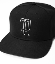 Load image into Gallery viewer, The P. Cap (Black)
