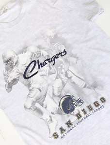Vintage San Diego Chargers Embroidery Tee