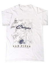 Load image into Gallery viewer, Vintage San Diego Chargers Embroidery Tee
