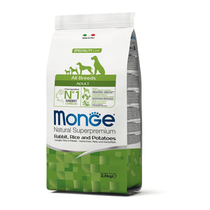 Monge Dog - SPECIALITY Line - Monoprotein - Adult ALL BREEDS Rabbit