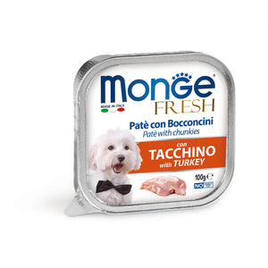 Monge Dog - FRESH Paté Turkey