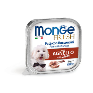 Monge Dog - FRESH Paté Lamb