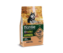Load image into Gallery viewer, Monge Dog - BWild - GRAIN FREE - Adult Salmon
